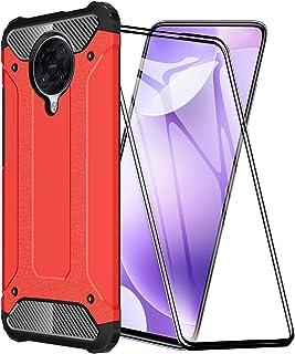 FANFO® Funda para Xiaomi Poco F2 Pro, protección contra Golpes de TPU + PC Resistente a arañazos (Doble Capa) Carcasa para...