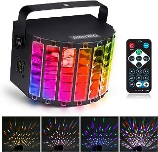 Albrillo LED Bühnenbeleuchtung - LED PAR Party Disco Licht, 9 Lichfarben Party Lampe mit 3 Modus DMX Musikgesteuert Lichteffekt LED als Partylicht für Karaoke, Geburtstag und Halloween