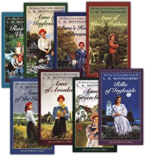 Anne Shirley Complete 8-Book Series : Anne of Green Gables; Anne of the Island; Anne of Avonlea; Anne of Windy Poplar; Anne`s House of ... Ingleside; Rainbow Valley; Rilla of Ingleside