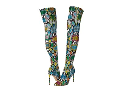 Steve Madden Viktory Over-the-Knee Boot (Bright Multi) Women