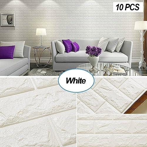 Wall Decoration Accent Wall Pebbles Like Styrofoam: Faux Brick Wallpaper: Amazon.com