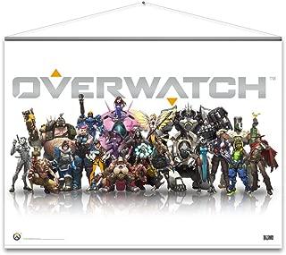 Overwatch Wall Scroll - Heroes