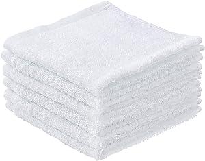 Superio Terry Towel White Cloths 100% Cotton 12