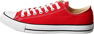 Converse Unisex Chuck Taylor All Star Ox Low Top Classic Red Sneakers - 6 B(M) US Women / 4 D(M) US Men