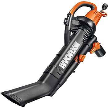 WORX WG507 12 Amp 2-Speed 3-in-1 Electric Blower//Mulcher//Vacuum