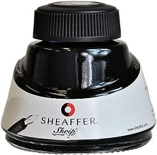 Sheaffer Skrip Jet Blue/Black Bottled Ink, 50ml -94211