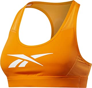 Reebok Women's S Hero Racer Pad Bra-Read Sports, hivior, XS
