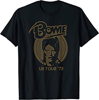 David Bowie - Ziggy Stardust 1972 Tour T-Shirt
