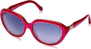 Roberto Cavalli Women's RC781S Oval Sunglasses Red 56 mm