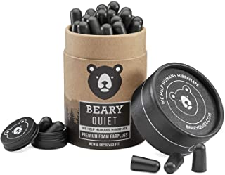 Best Ear Plugs for Sleeping by Beary Quiet 30 Pairs Upgraded