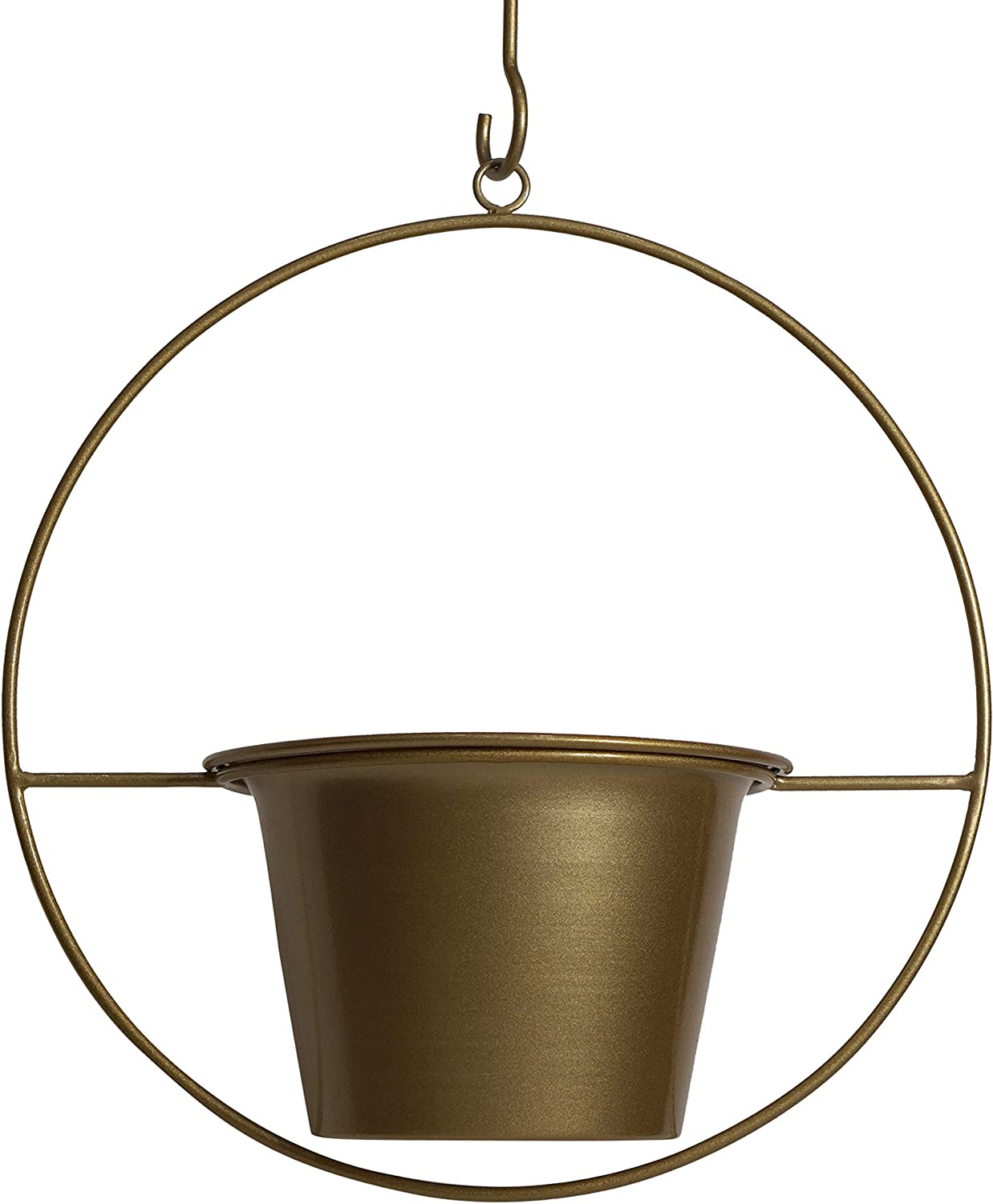 Ethereal Ore Max 80% OFF 6 Inch List price Gold Hanging Planter