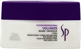 Wella SP Volumize Hair Mask Leave Weightless Intensive Care and Boost Volume, 200mL
