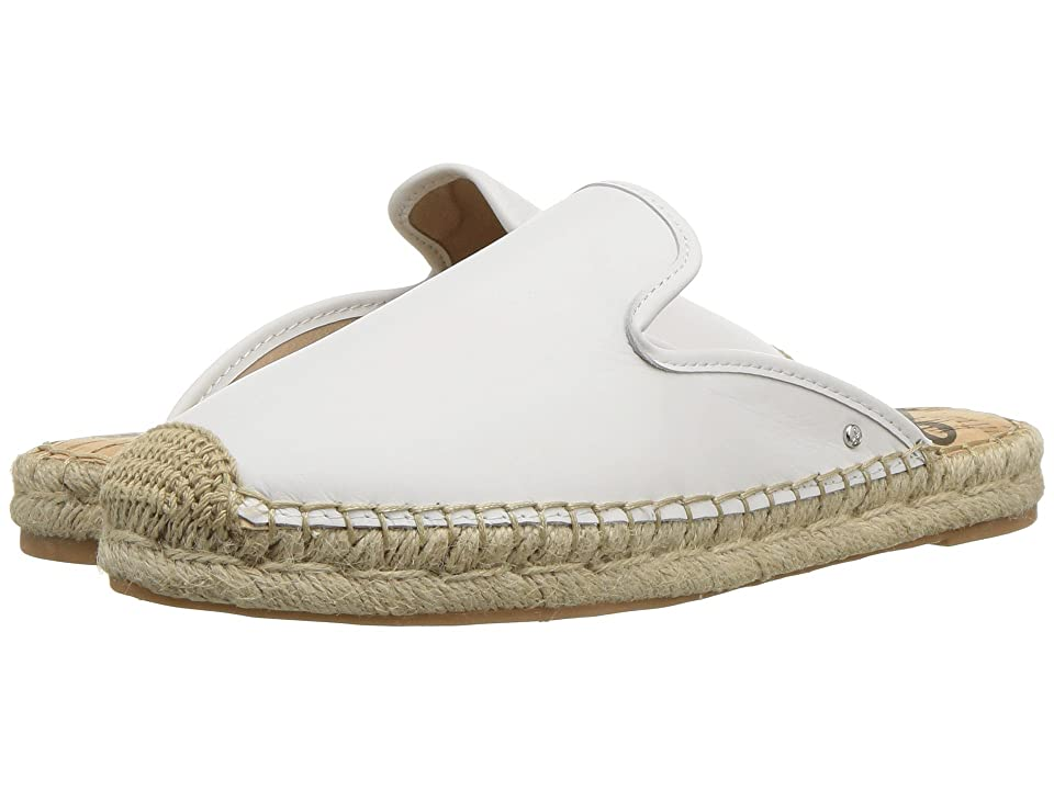 Sam Edelman Kerry (Bright White Nappa Luva Leather) Women