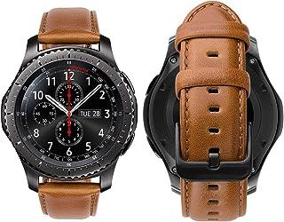 nouvelles variétés commander en ligne vente en ligne Amazon.fr : Cuir - Bracelets de montres / Homme : Montres