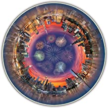 A Broader View Round Table Puzzle - City Central (500-piece)