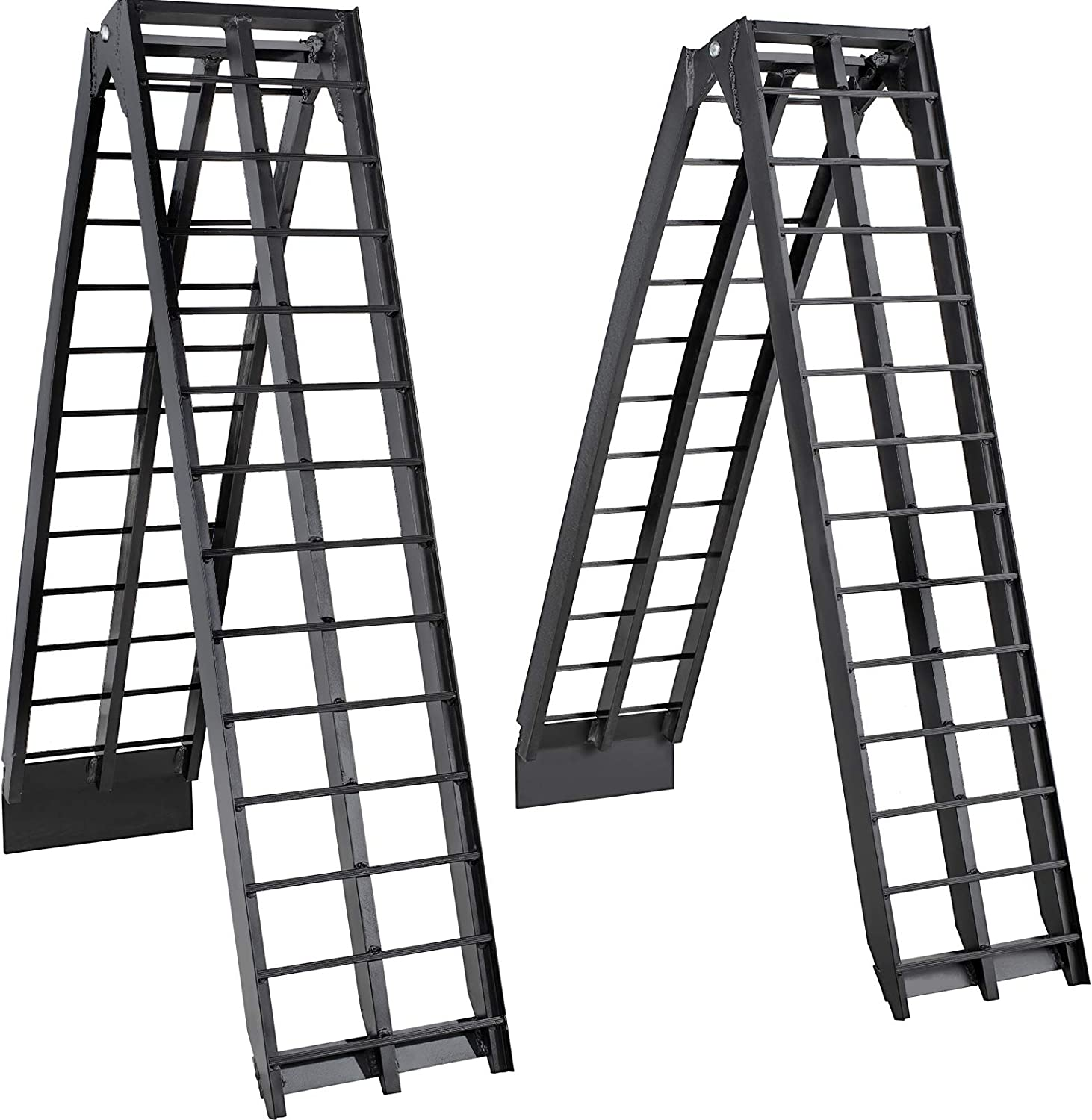 BestEquip Aluminum Now free shipping Ramps Quality inspection 8FT x 17.25 Inch Capa ATV 2000LBS