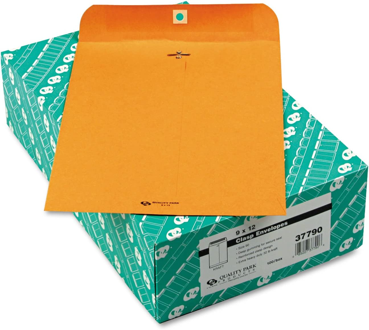 Quality Park 37790 Heavy-Duty Clasp x12-Inc New Free Shipping 9-Inch New product!! Envelope 32Lb