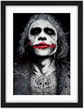 Wee Blue Coo Batman Joker Heath Ledger Tattoo Inked Ikons Wayne Maguire Artwork Framed Wall Art Print 18X24 Inch