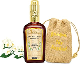 O4U 100% Organic Madurai Jasmine Essential oil for Face and Skin care - 20 ml