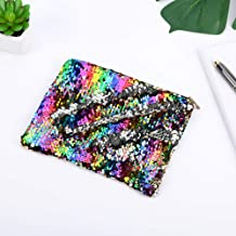 Climberty Fashion Sequin Hairball Pencil Case School Supplies BTS Stationery Gift Cute Pencil Box Pencilcase School Tools Pencil Cases (Style 5)