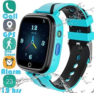 Kids Smart Watch GPS Tracker - 2019 New Waterproof Children Smart Watches with 1.4