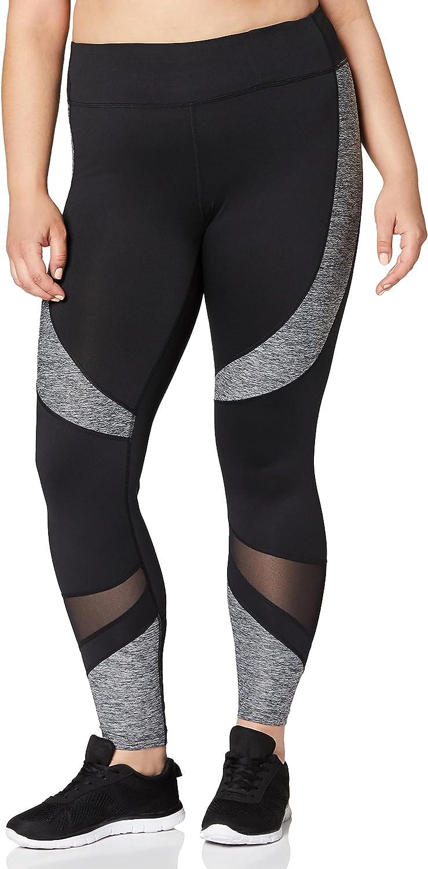 Amazon Brand - AURIQUE Women's Velour Sports Leggings