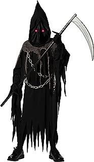 Grim Reaper Deluxe Halloween Costume for Kids Teens Tweens Boys