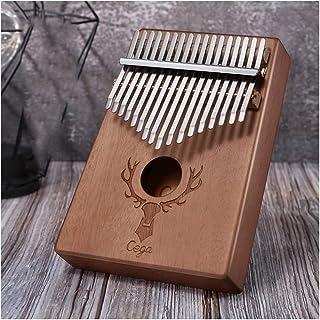 WENPINHUI Thumb Piano, Kalimba, 17-tone Beginner Portable Thumb Piano, Wood Color, Blue, Pink (Size : G)