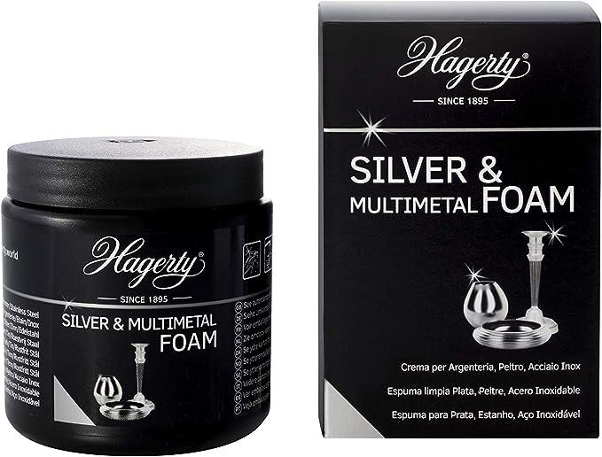 138 opinioni per Hagerty Silver Foam Schiuma detergente per argento 185g I Crema in schiuma