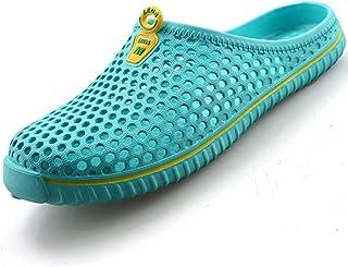 katliu Zapatillas de Jardín Unisex Zuecos Suave Ligeras Transpirable,36-45
