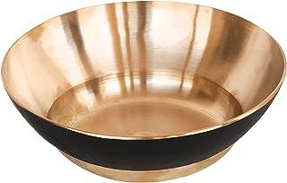 De Kulture Works Bronze Kansa Serving Bowl - 8.5x2.5 (DH) Inches
