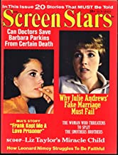 Screen Stars Magazine; April 1968 (Julie Andrews cover & feature)