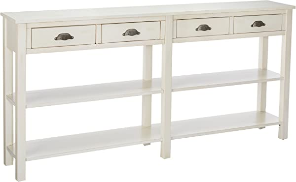 Powell S Furniture 149 534 Crackle Console Cream