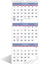 2020 Calendar - 3-Month Display, 11