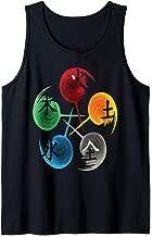 Tai Chi Shirt, The Five Elements Of Qigong  Tank Top