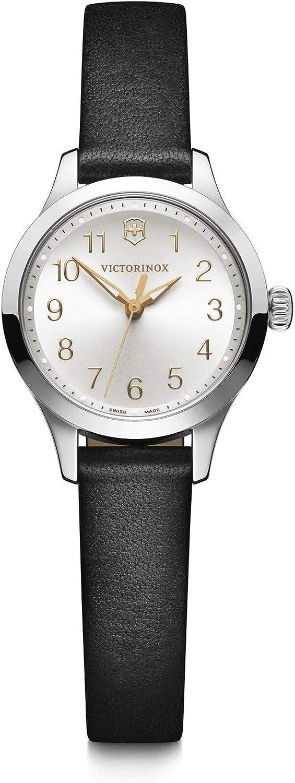 Victorinox Mujer Alliance XS - Reloj analógico de Cuarzo/Cuero de fabricación Suiza de Acero Inoxidable 241838