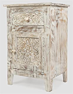 Jofran Hand Carved Accent Table