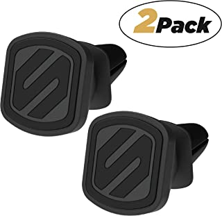 SCOSCHE MMV-2PKXCES0 MagicMount Select Magnetic Vent Mount Holder for Vehicles, Black (Pack of 2)
