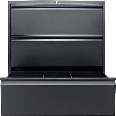 3-Drawer Mobile File Cabinet,Under Desk Metal Filing Cabinet for Legal/Letter/A4 File, Fully Assembled