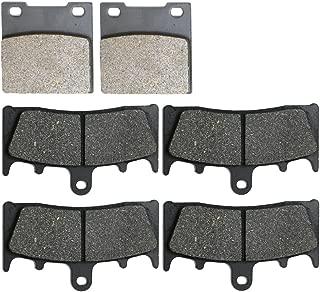 CNBK Carbon Brake Shoe Pads Set fit for SUZUKI Street Bike GSX-R750 GSXR750 GSXR GSX R GSX-R 750 cc 750cc Srad 96 97 98 99 1996 1997 1998 1999 6 Pads