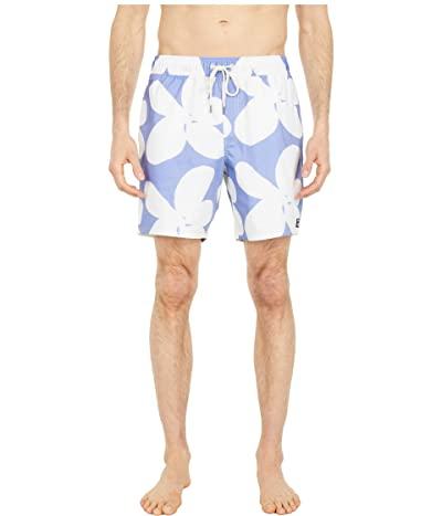 RVCA Elder 17 Elastic Shorts (Floral) Men