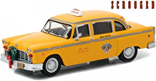 Greenlight Hollywood Scrooged (1988-1978) Checker Taxi Cab Vehicle
