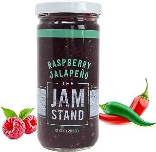 The Jam Stand, Raspberry Jalapeño Jam, 10 oz