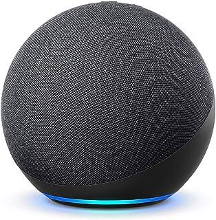 Echo (4e generatie) Internationale versie | Met premium sound, smart home hub en Alexa | Antraciet | Nederlandse taal niet...