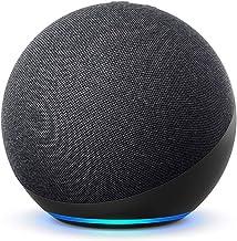 De nieuwe Echo (4e generatie) Internationale versie | Met premium sound, smart home hub en Alexa | Antraciet | Nederlandse...