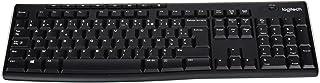 Logitech K270, RF Wireless, PC, Home, Estándar, recto, 2.4 GHz, teclado AZERTY (importado de Francia)