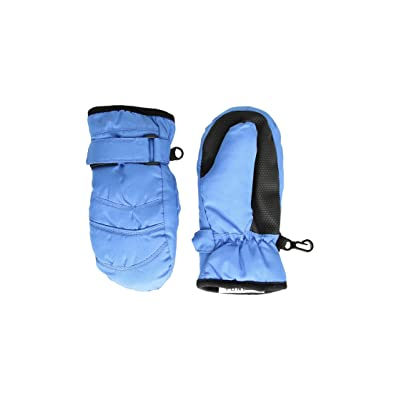 Tundra Boots Kids Nylon Mittens (Navy) Extreme Cold Weather Gloves