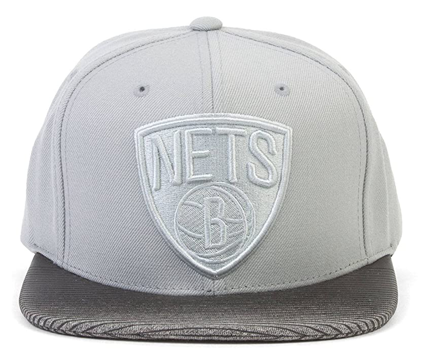 Mitchell & Ness NBA Brooklyn Nets City Undervisor Adjustable Snapback Hat