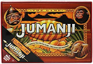 Spin Master Games 6041476 CGI ADG Jumanji Game WoodCase WLMX GEN Toy
