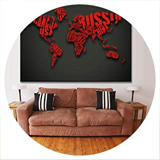 lovehouse21 Huge Black World Map Paintings Canvas Hd Abstract World Map Canvas Painting Office Wall Art Home Decor Pictures,28X40,A1106